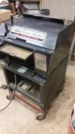 craftsman planer molder 12 inch, 220 5hp motor. same as foley belsaw 9
