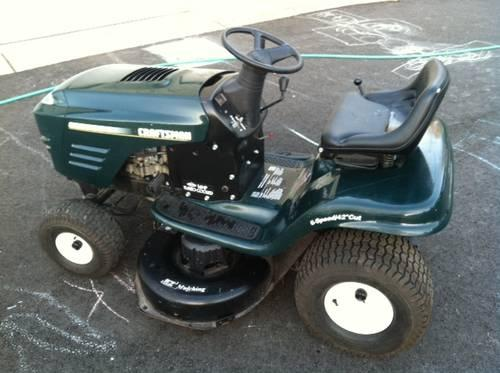 Craftsman Riding Lawn Mower Tractor 16 Hp 42 Quot Barely Used