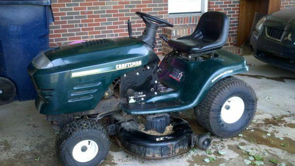 Craftsman Riding Mower 4500 Clifieds