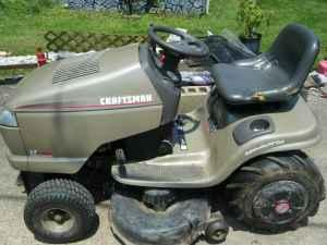 craftsman riding mower lt1750 - $500 (sistersville,wv)