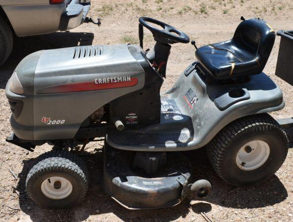 Old Craftsman Lawn Mowers : Craftsman riding mower lt anton tx for sale in