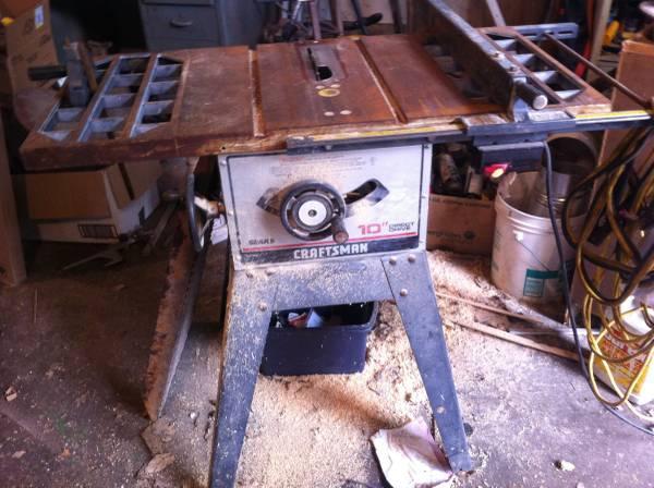 Craftsman saw's t&r - $125