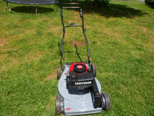 Craftsman Self Propelled Mower 4 5hp Tecumseh Eager 1 20 Quot Cut For Sale
