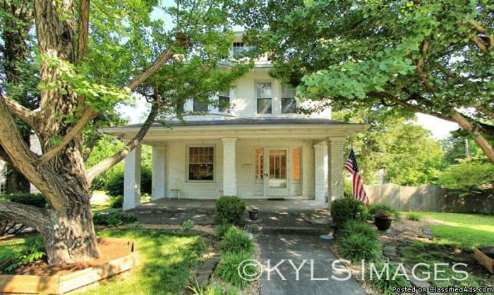 Craftsman Style Historic Brick House For Sale Danville