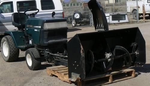Craftsman Lawn Tractor Snow Blower : Craftsman tractor quot mower snow blower tiller combo
