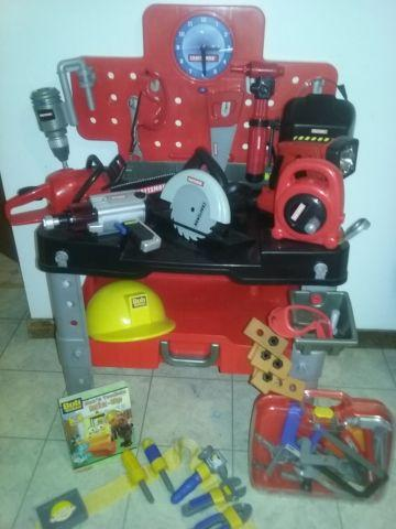 Craftsman Workbench & Tools, and 4x4 Power Wheels