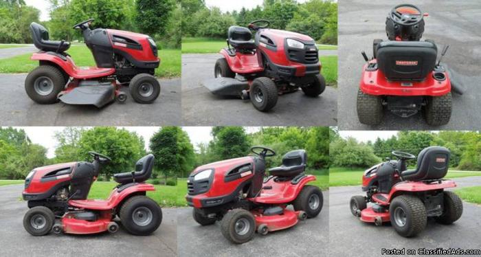 Craftsman Yt 3000 Lawn Tractor : Craftsman yt quot riding lawn tractor for sale in