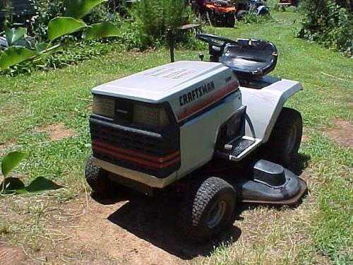 Craftsman 2 Riding Mower : Craftsman ride on mower for sale car interior design