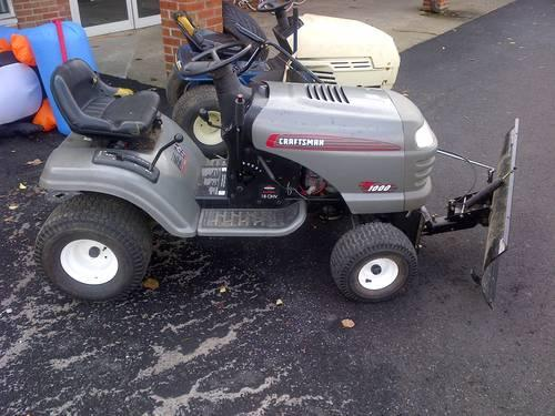 Craftsman Lt1000 Mower Manual : Craftsman lt for sale in mayville new york classified