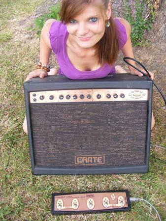 crate amp digital guitar type with manual for sale in harrisonburg rh harrisonburg va americanlisted com crate amplifier manuals crate amp manuals