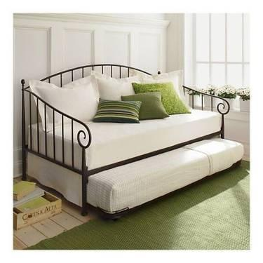 crate and barrel exclusive porto daybed and trundle w 2 mattresses for sale in dockweiler. Black Bedroom Furniture Sets. Home Design Ideas