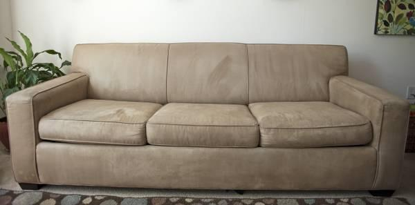 Crate And Barrel Queen Sleeper Sofa Obo For Sale In Palo Alto