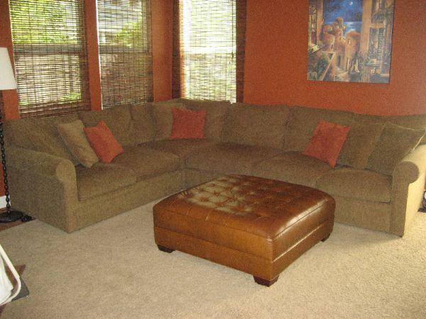 Crate and Barrel Sectional Sofa - (Natomas) for Sale in ...