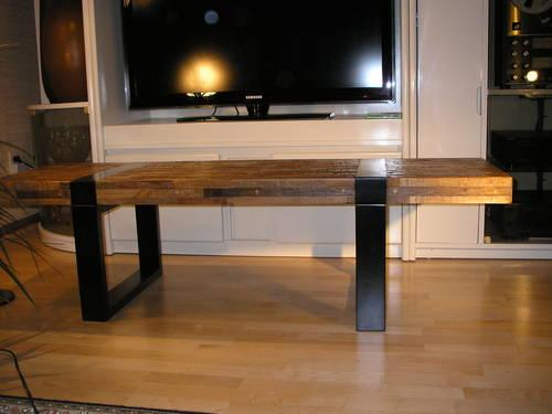 CRATE AND BARREL SEGURO COFFEE TABLE