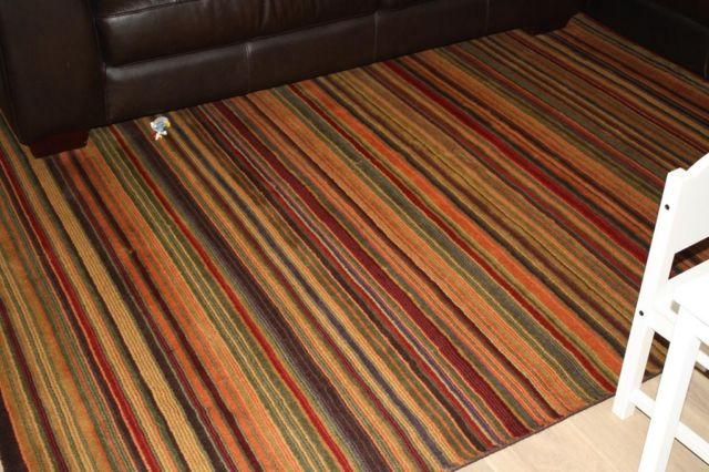 Crate Amp Barrel Area Rug 6x9 Gianni Colorful Stripe