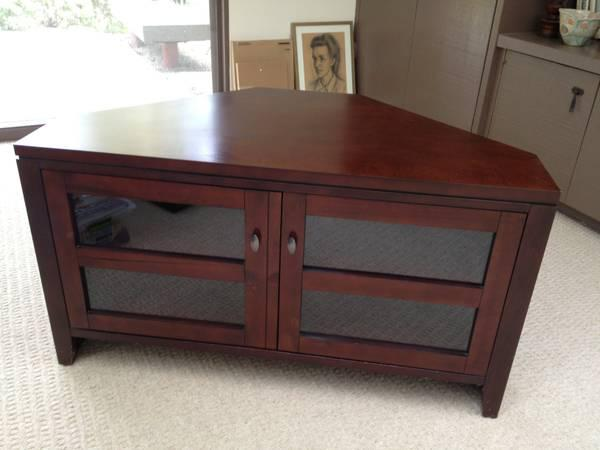 Crate Barrel - Corner Media Stand - $225