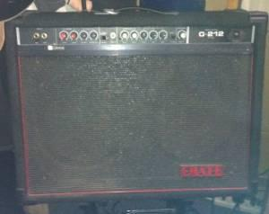 CRATE G212 combo guitar amp - $100 (duluth)