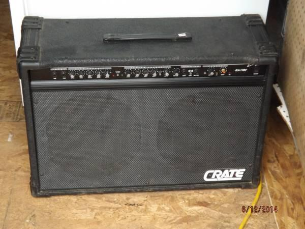 crate gx 130c electric guitar amp for sale in beaver dam texas classified. Black Bedroom Furniture Sets. Home Design Ideas