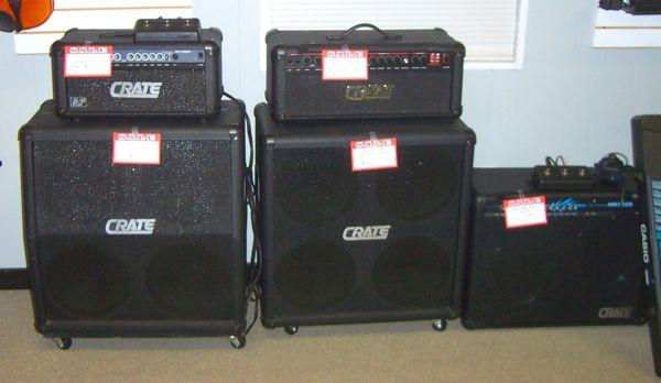 CRATE HALF STACKS & COMBOS - $330