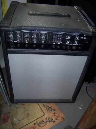 crate kx100 4 channels keyboard amp or bass amp for sale in dewey arizona classified. Black Bedroom Furniture Sets. Home Design Ideas