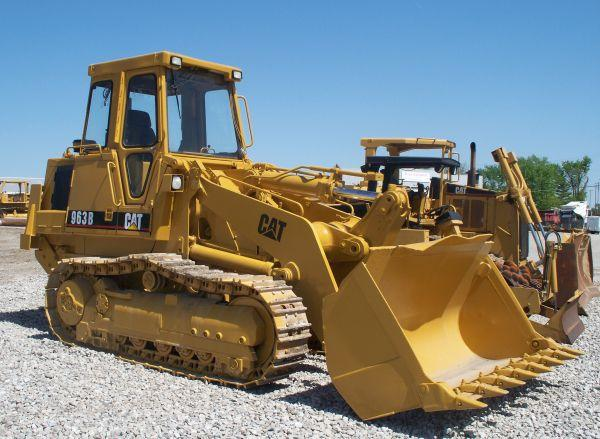 Crawler Loader: CAT 963B - for Sale in Quincy, Illinois ...
