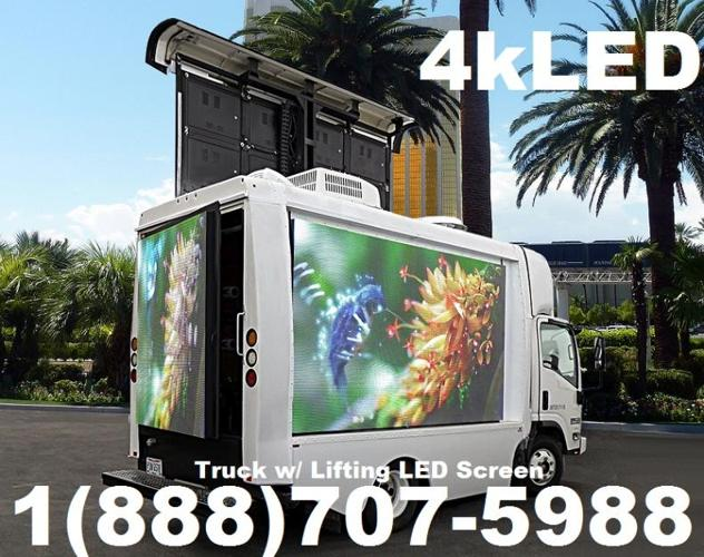 creative custom led digital sign trucks for sale in las vegas nevada classified. Black Bedroom Furniture Sets. Home Design Ideas