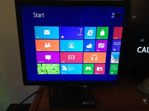 CRESTRON TPS5000 12 TOUCHSCREEN CONTROL MONITOR The Isys TPS-5000