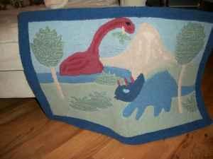 Crib Bedding Set Pottery Barn Dinosaurs Lake Carolina