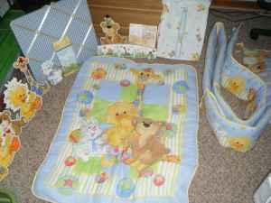 Crib Set For Baby Little Suzy S Zoo Decatur Americanlisted on Vibrating Baby Car Seat