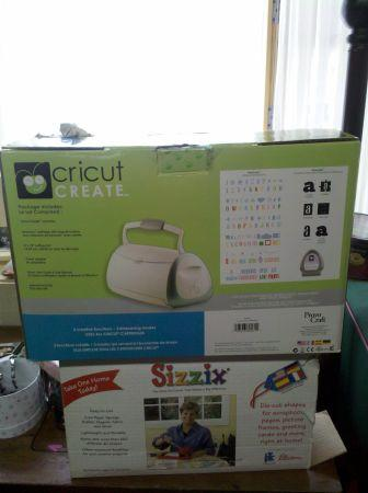 CRICUT CREATE CRAFTS/SCRAPBOOK MACHINE - $100 (Dushore