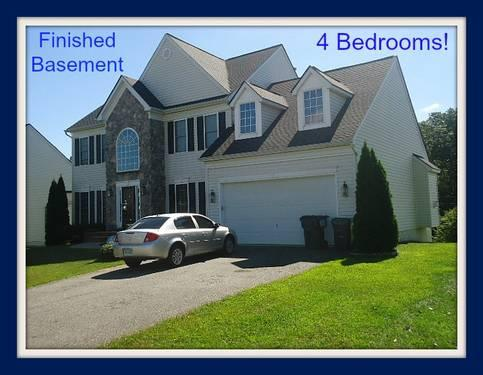 Crown Jewels Ct 4 Bedroom Home With Finished Basement For Sale In Fredericksburg Virginia