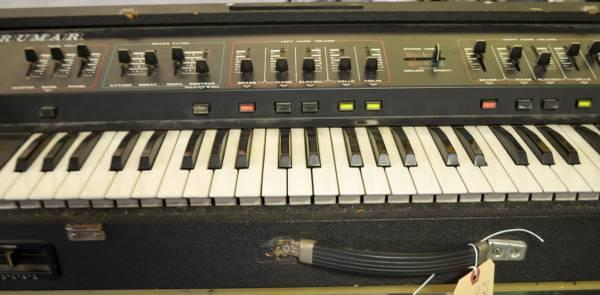 crumar orchestrator vintage keyboard with 2 pedals for sale in philadelphia pennsylvania. Black Bedroom Furniture Sets. Home Design Ideas