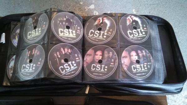 CSI Seasons 1-5 on DVD - $20