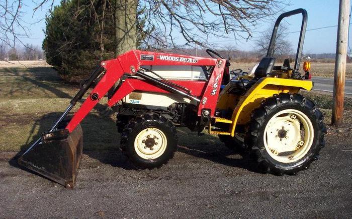 4x4 Cub Cadet Garden Tractors : Cub cadet diesel w loader cardington oh for