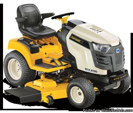Cub Cadet Gtx 2100 Lawn Garden Tractor For Sale In Indianapolis Indiana Classified