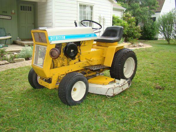 Cub Cadet Lawn Tractor Taylor For Sale In Austin Texas Classified