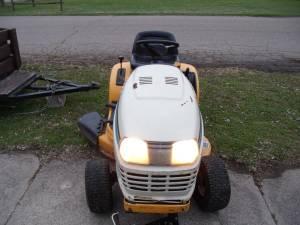 cub cadet riding mower repair manual
