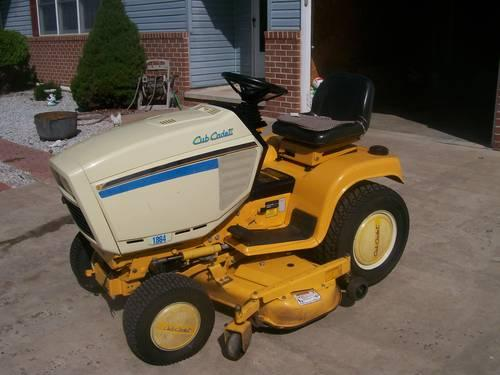 Cubcadet 1864 Garden Tractor  Snow Blower For Sale In