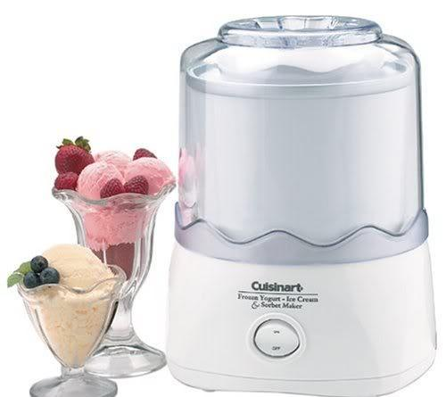 Cuisinart 1-1/2-Quart Automatic Ice Cream Maker Like