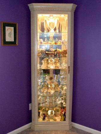 Curio Cabinet Part Cleaned Walnut Philip Reinisch