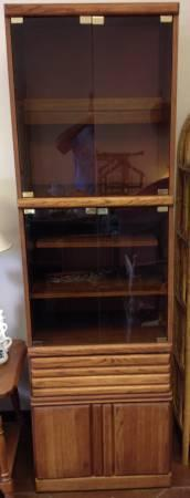 ***Curio/Entertainment Type Cabinet*** - $65