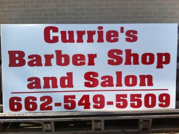 Currie's Barber Shop and Salon 662-549-5509