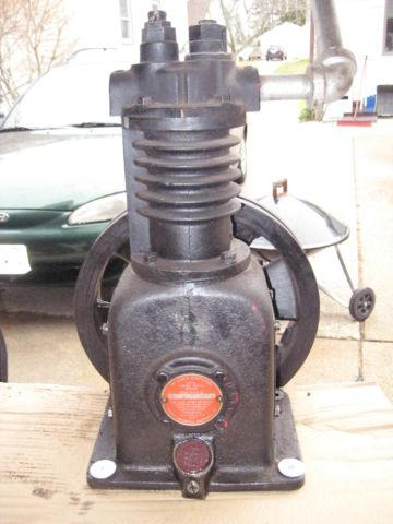 Curtis compressor pump