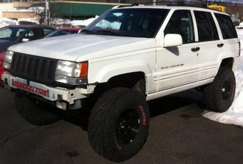 custom 1996 jeep grand cherokee tube doors lifted for sale in middletown connecticut classified. Black Bedroom Furniture Sets. Home Design Ideas