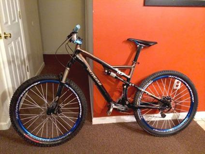 Custom 2011 Specialized Stumpjumper FSR