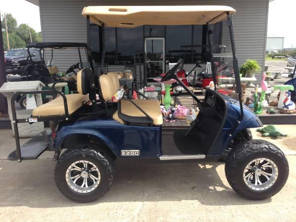 Custom 48 Volt 2012 EZGO TXT 4 penger golf cart - for Sale in ... on