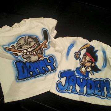 Custom Airbrushed Apparel