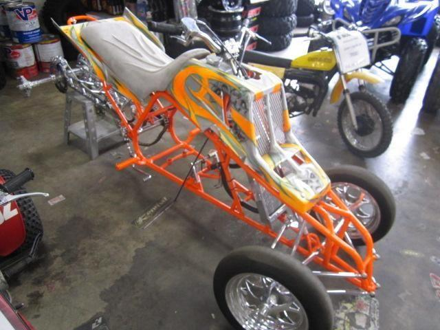 Custom Banshee Lone Star Rolling Drag Chassis