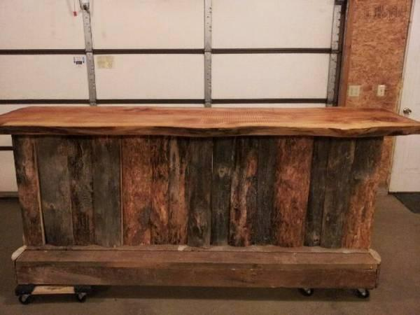 Custom Barnwood Bar - for Sale in Wausau, Wisconsin ...