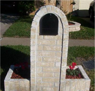 Custom brick stucco stone mailboxes all for American brick and stone